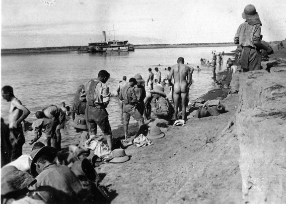Tigris above Amara, 1916