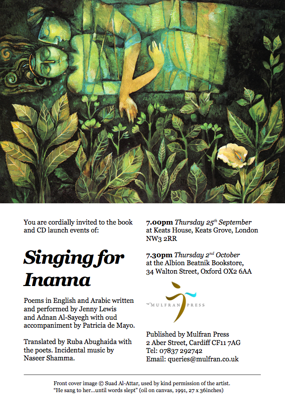 SINGING FOR INANNA WITH PAINTING CREDIT JENNY LEWIS