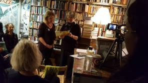 Jan and Jenyth reading