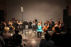 Jenny with orchestra