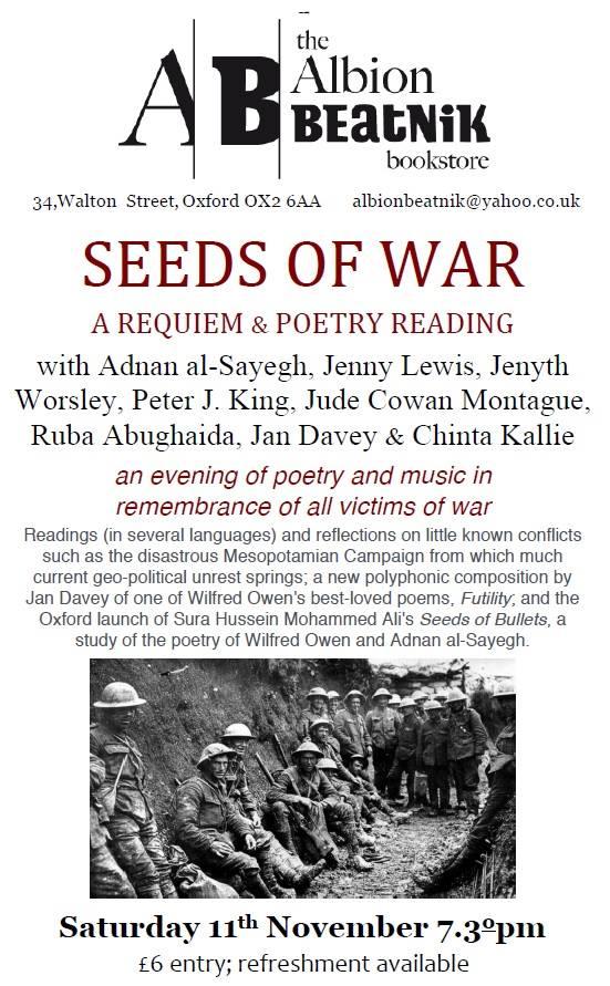 Seeds of war event