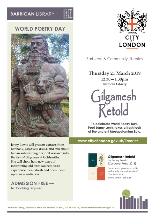 Gilgamesh poster 21 March 2019 copy